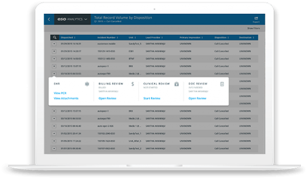 EMS Analytics Software