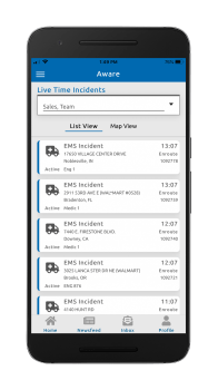 Aware_Live Incidents on phone_Aug20